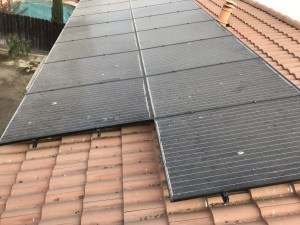 Before Solar Panel Maintenance